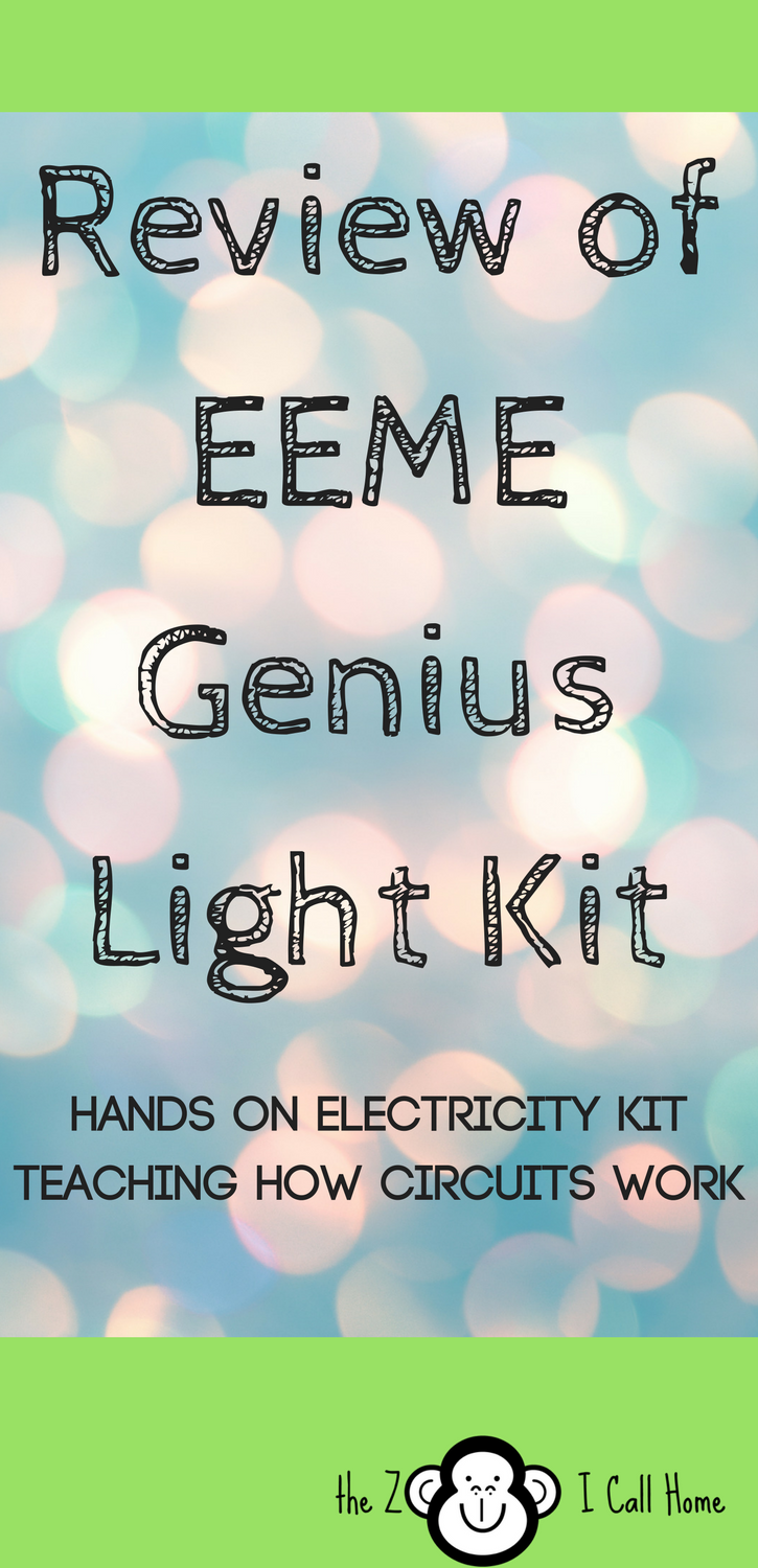 Review of the EEME Genius Light kit, the first in the subscription series.