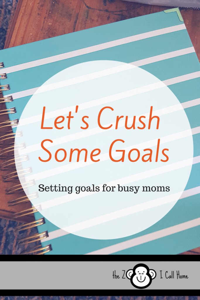 Setting goals for busy moms and crushing it!