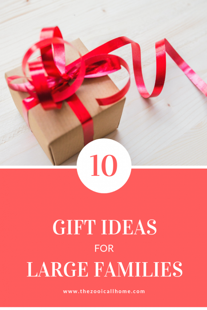 Top 10 Gift Ideas for Large Families
