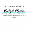 Budget Planner for young adults