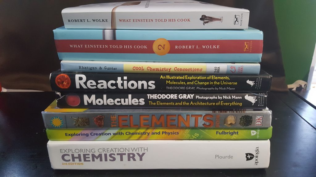 Chemistry books for high school. It doesn't have to be boring.