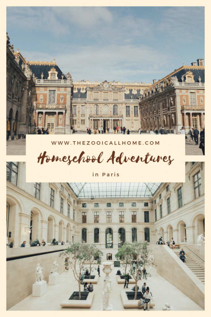"Homeschool Adventures in Paris is part of The Zoo I Call Home's ""Homeschool Anywhere"" series. Homeschool is flexible!"