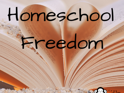 Homeschool freedom. Come check out the Homeschool Interview series at the Zoo I Call Home