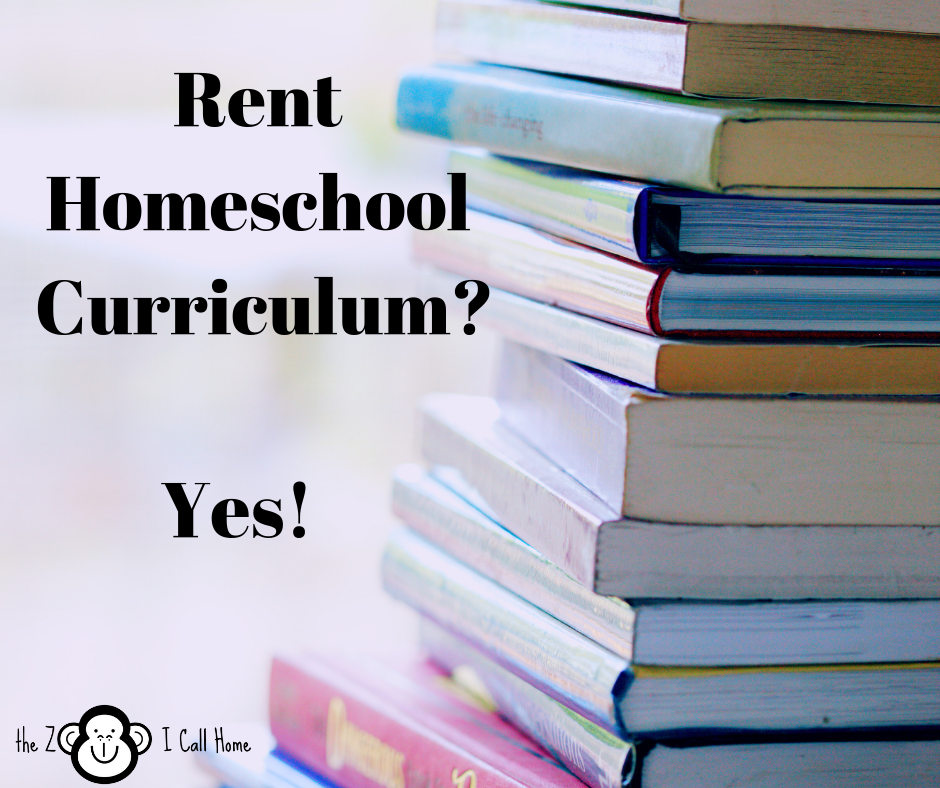 Renting Homeschool Curriculum?