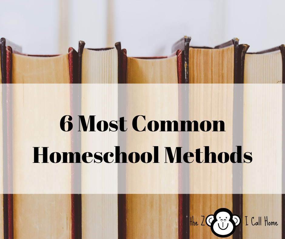 6 Most Common Homeschool Methods