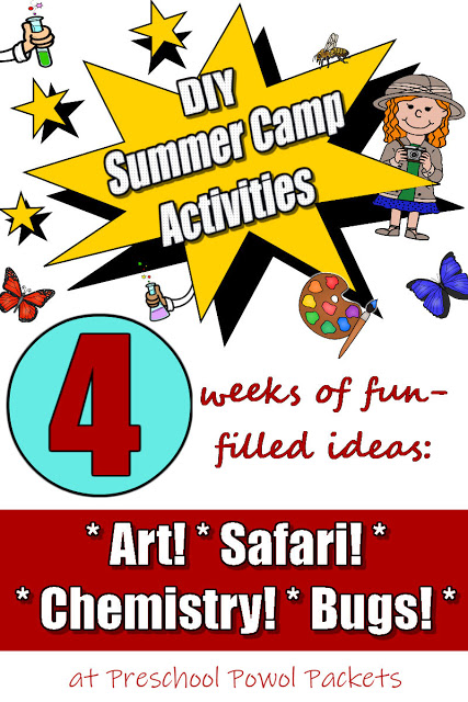 DIY Summer Camp Activities