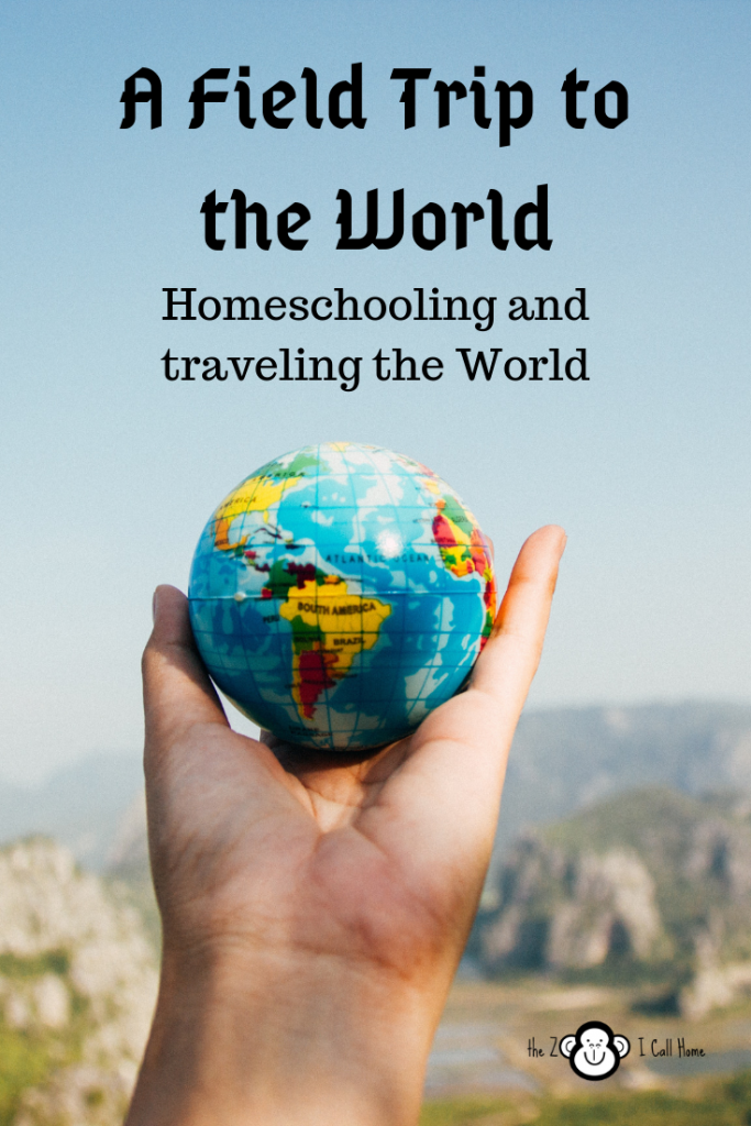 A Field trip to the world: homeschooling and traveling the world.