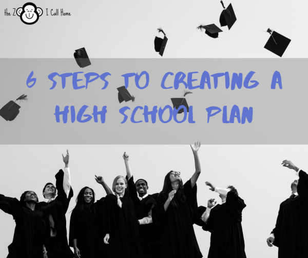 6 Steps to Creating a High School Plan