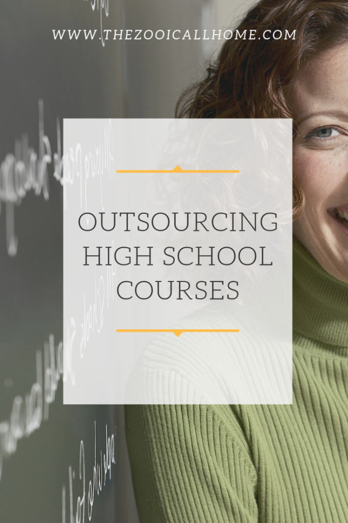 Outsourcing homeschool high school courses
