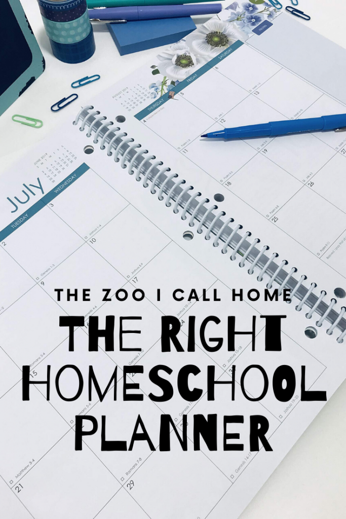 Finding the right homeschool planner can make all the difference.